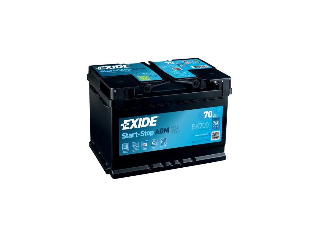 Startovací baterie EXIDE AGM EK700