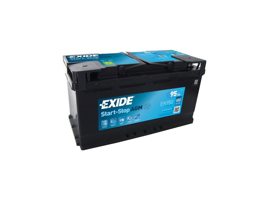 Startovací baterie EXIDE AGM EK950