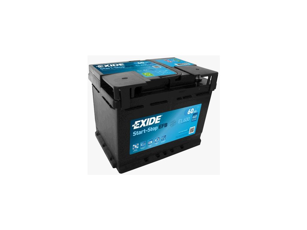 Startovací baterie EXIDE EFB EL600