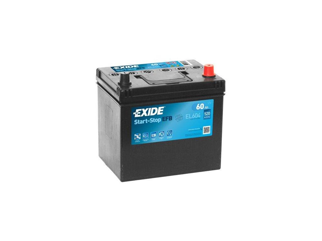 Startovací baterie EXIDE EFB EL604