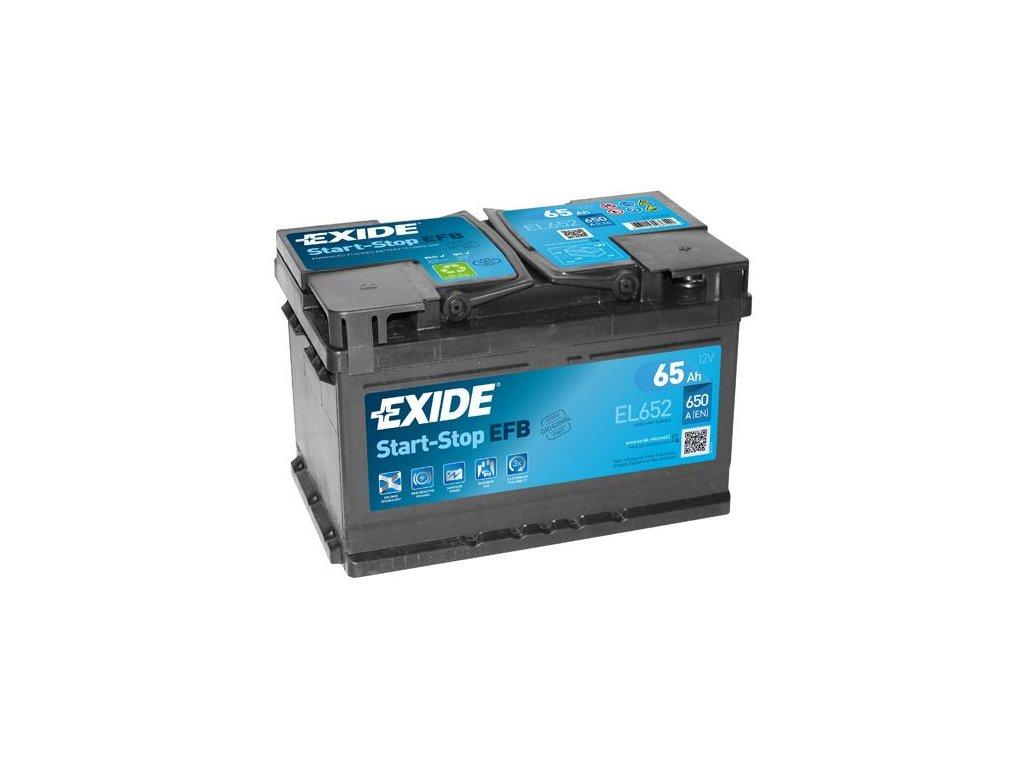 Startovací baterie EXIDE EFB EL652