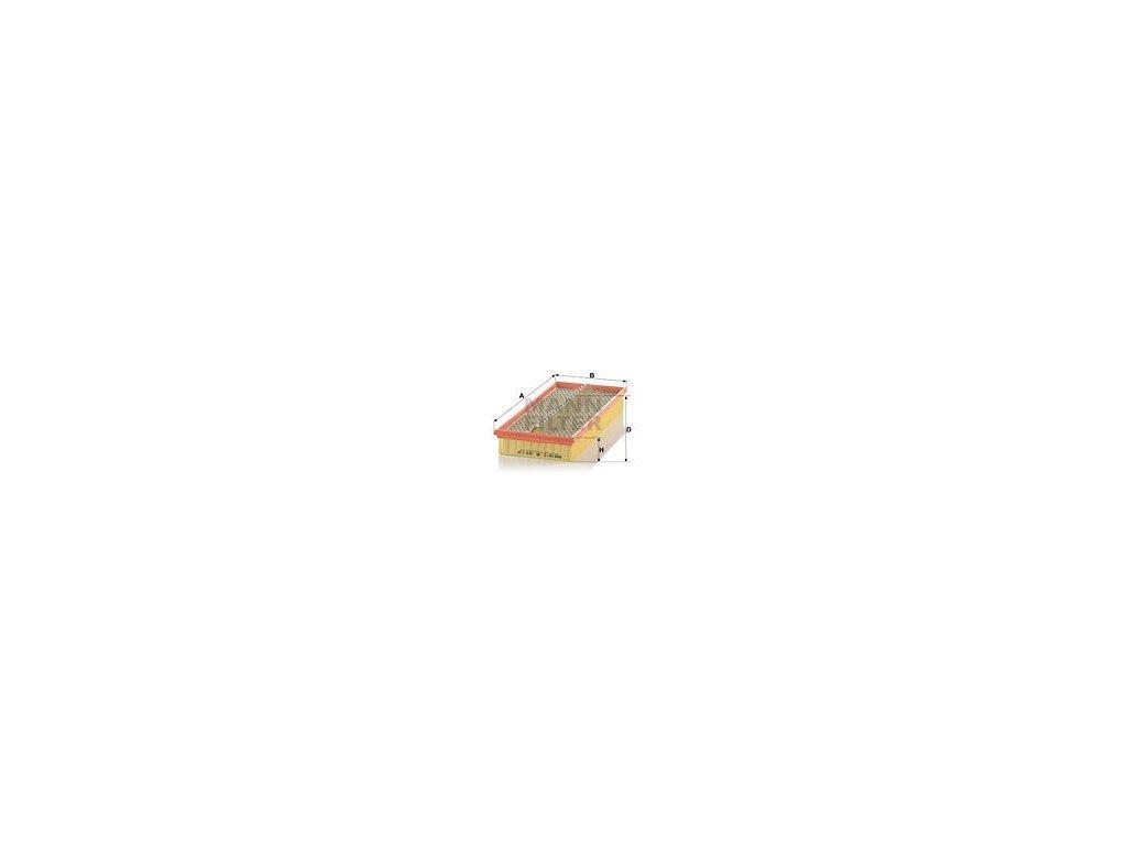 Vzduchový filtr MANN-FILTER C 38 163/1