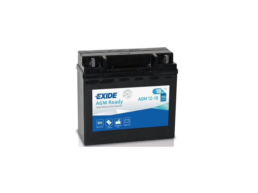 Startovací baterie EXIDE EXIDE AGM Ready AGM12-18