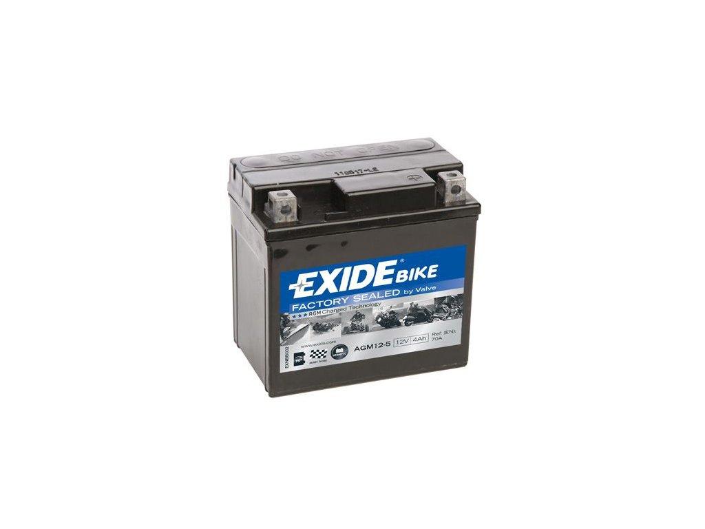 Startovací baterie EXIDE EXIDE AGM Ready AGM12-5