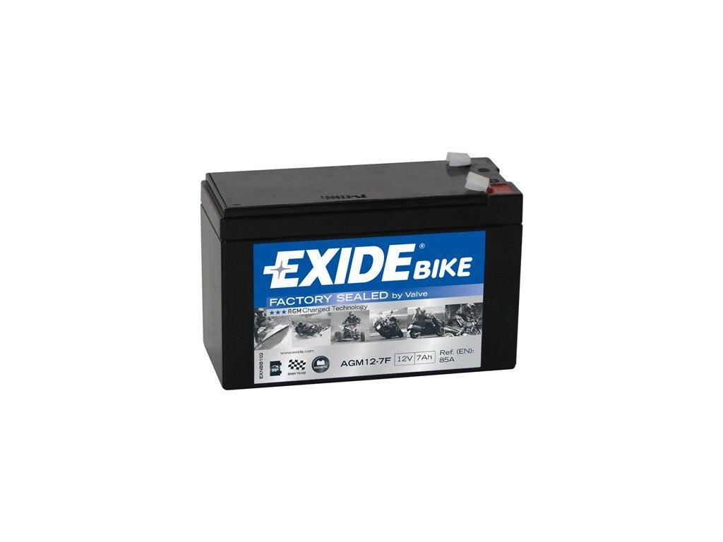 Startovací baterie EXIDE EXIDE AGM Ready AGM12-7F