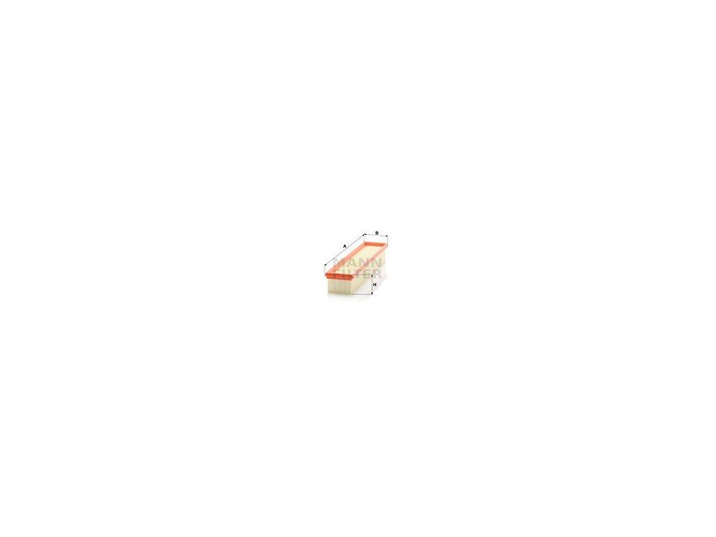 Vzduchový filtr MANN-FILTER C 3875