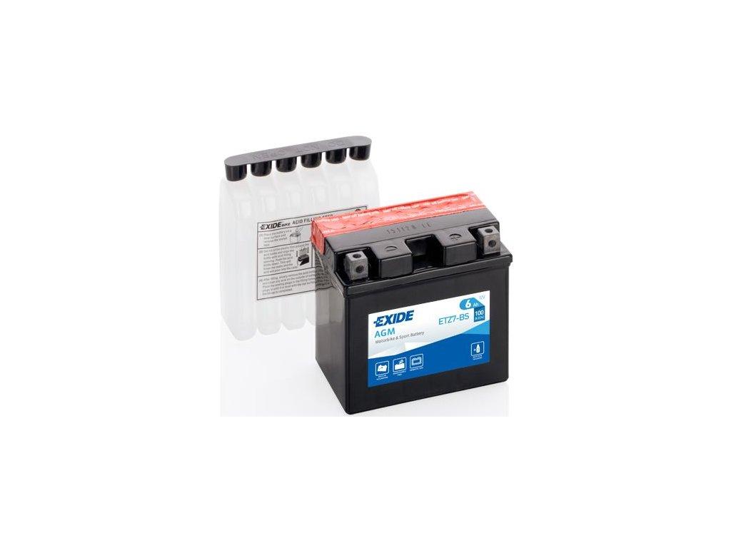 Startovací baterie EXIDE EXIDE AGM ETZ7-BS