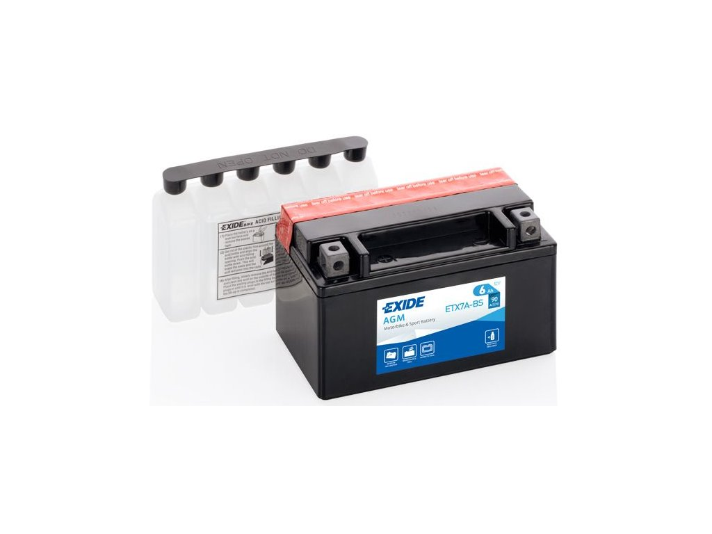 Startovací baterie EXIDE EXIDE AGM ETX7A-BS