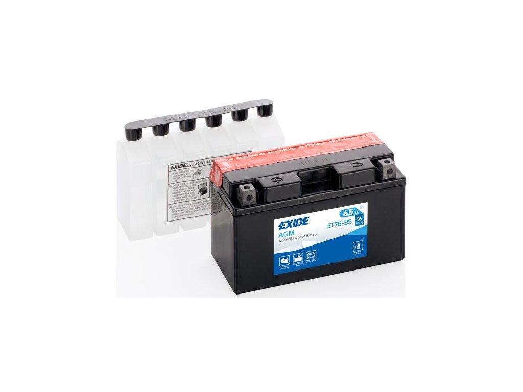 Startovací baterie EXIDE EXIDE AGM ET7B-BS