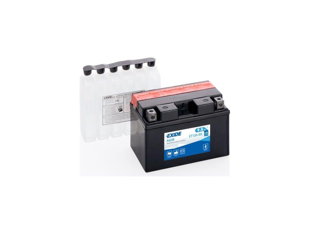 Startovací baterie EXIDE EXIDE AGM ET12A-BS