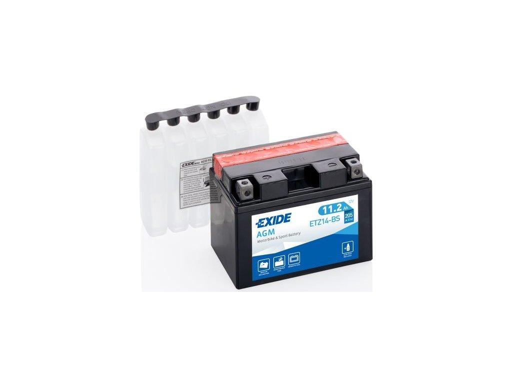 Startovací baterie EXIDE EXIDE AGM ETZ14-BS