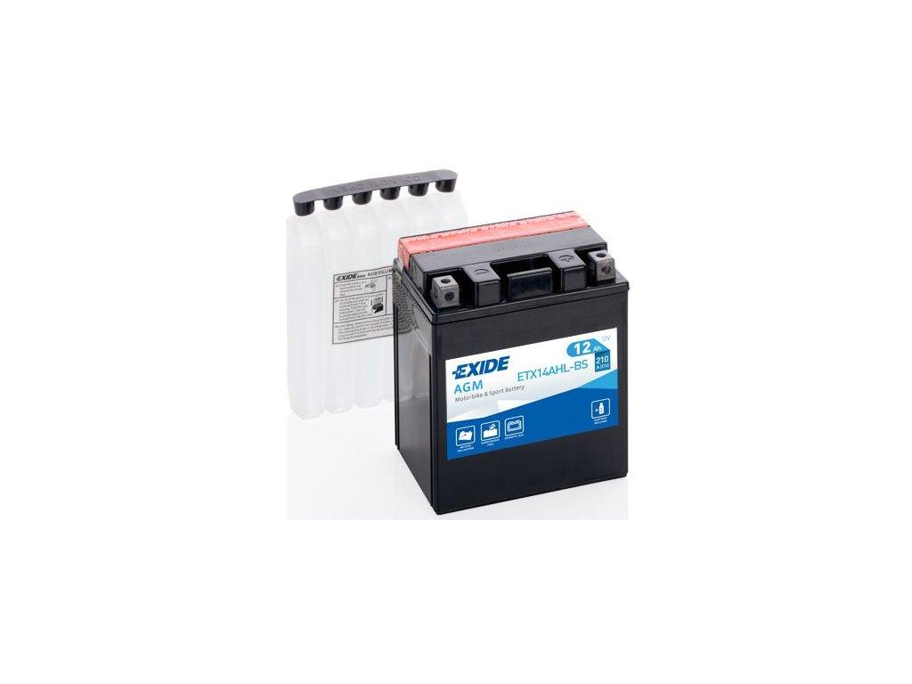 Startovací baterie EXIDE EXIDE AGM ETX14AHL-BS