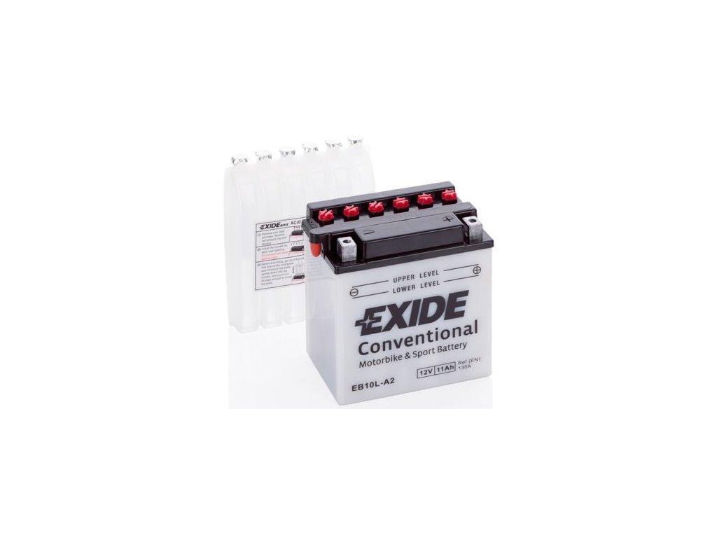 Startovací baterie EXIDE EXIDE Conventional EB10L-A2