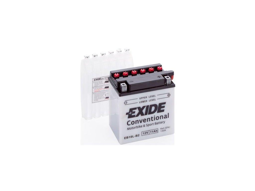 Startovací baterie EXIDE EXIDE Conventional EB10L-B2