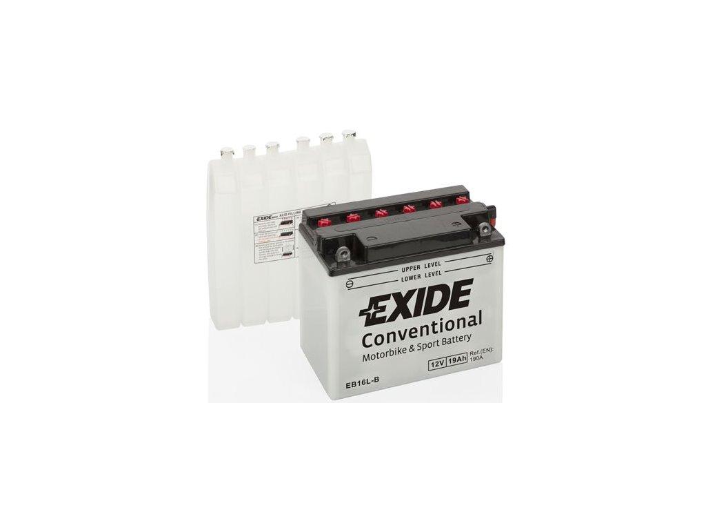 Startovací baterie EXIDE EXIDE Conventional EB16L-B