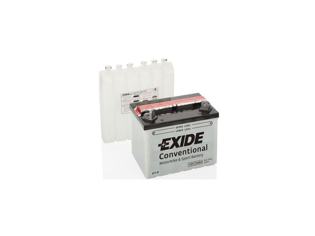 Startovací baterie EXIDE EXIDE Conventional U1-9