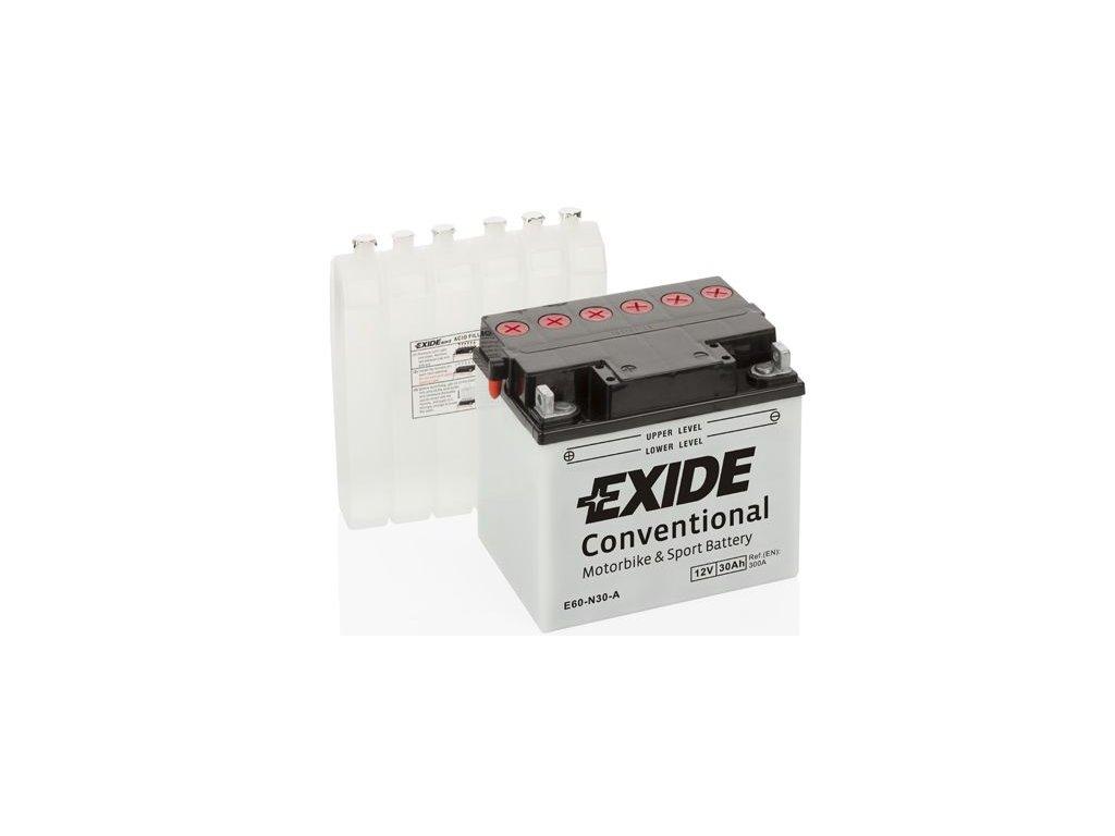 Startovací baterie EXIDE EXIDE Conventional E60-N30-A
