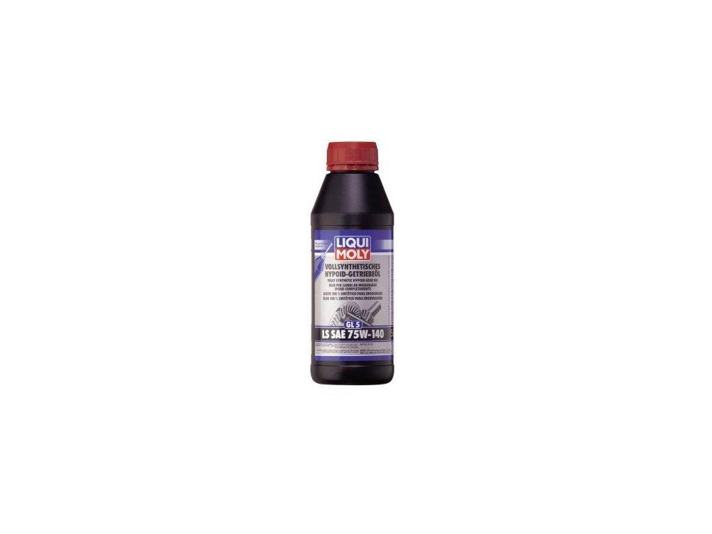 Olej do diferencialu LIQUI MOLY Vollsynthetisches Hypoid-Getriebeöl (GL5) LS SAE 75W-140 4420