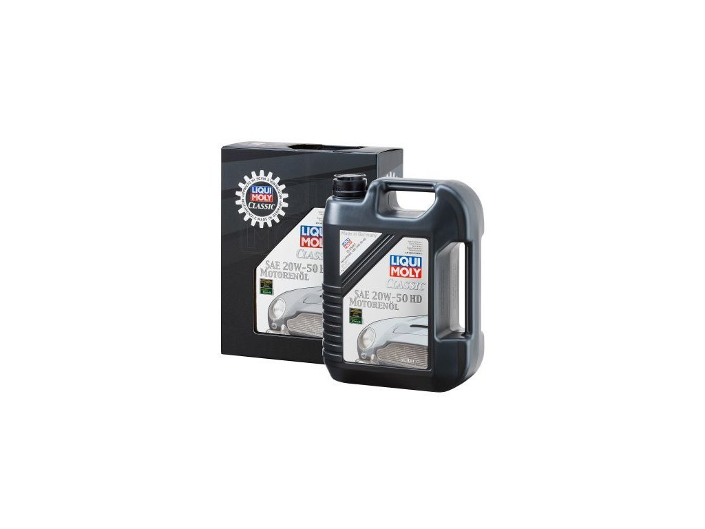 Motorový olej LIQUI MOLY Classic SAE 20W-50 HD 1129