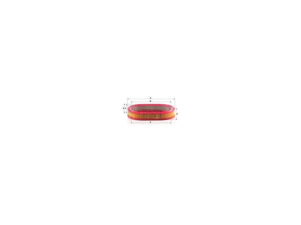 Vzduchový filtr MANN-FILTER C 3975/1