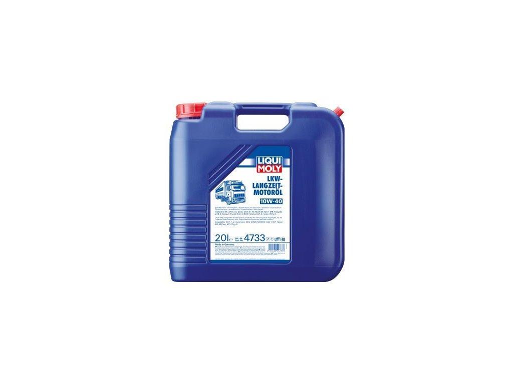 Motorový olej LIQUI MOLY LKW-Langzeit-Motoröl 10W-40 4733