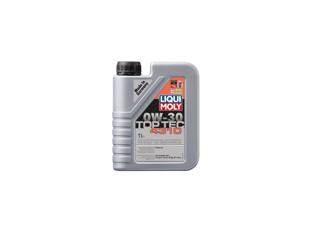 Motorový olej LIQUI MOLY Top Tec 4310 0W-30 3735