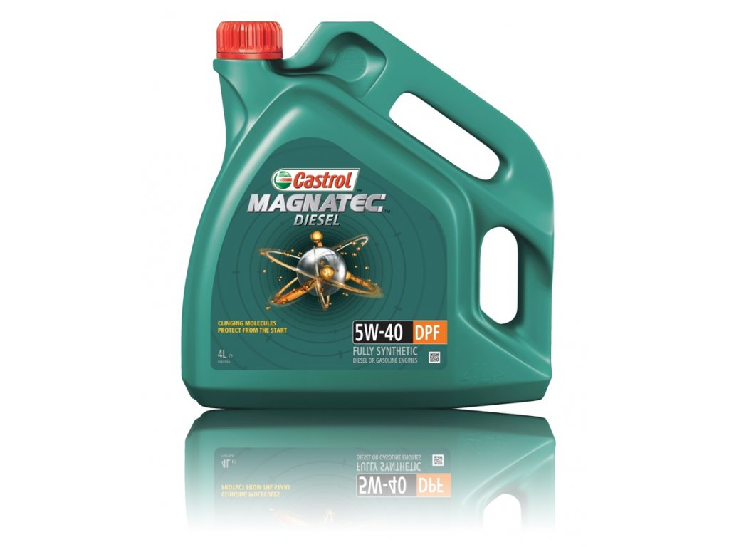 Castrol Magnatec Diesel 5W-40 DPF, 4l