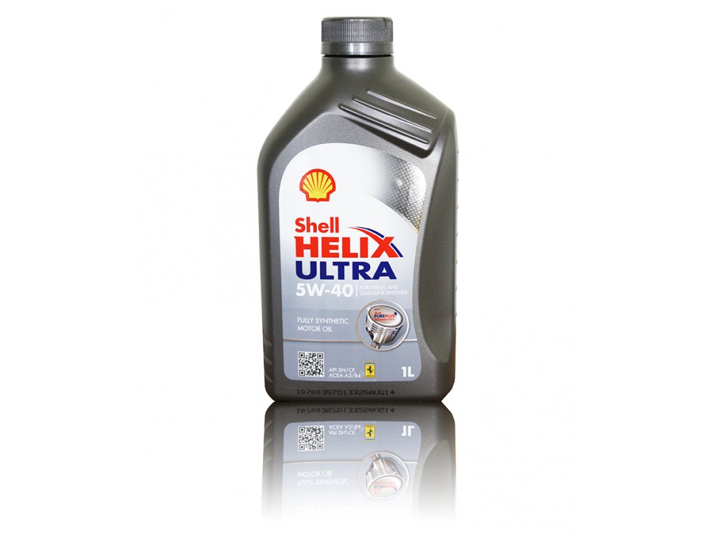 Shell Helix Ultra 5W-40, 1l