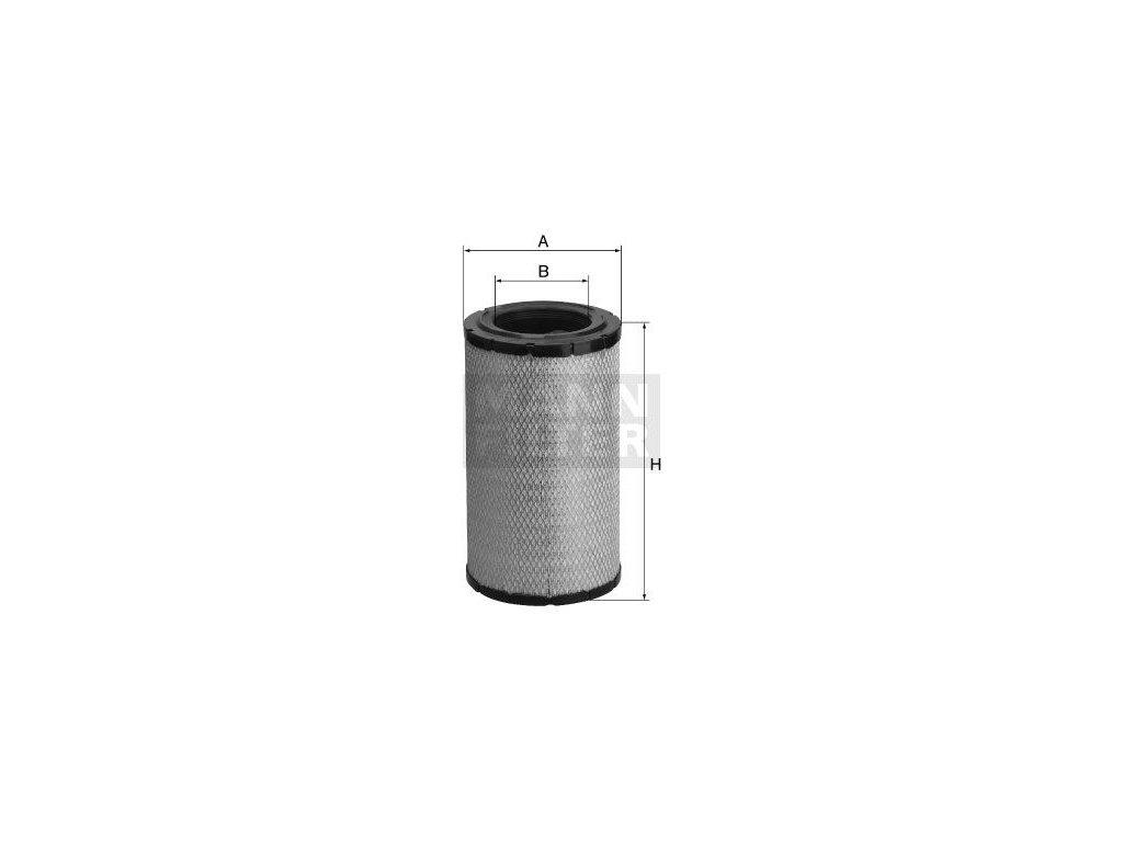 Vzduchový filtr MANN-FILTER C 26 025