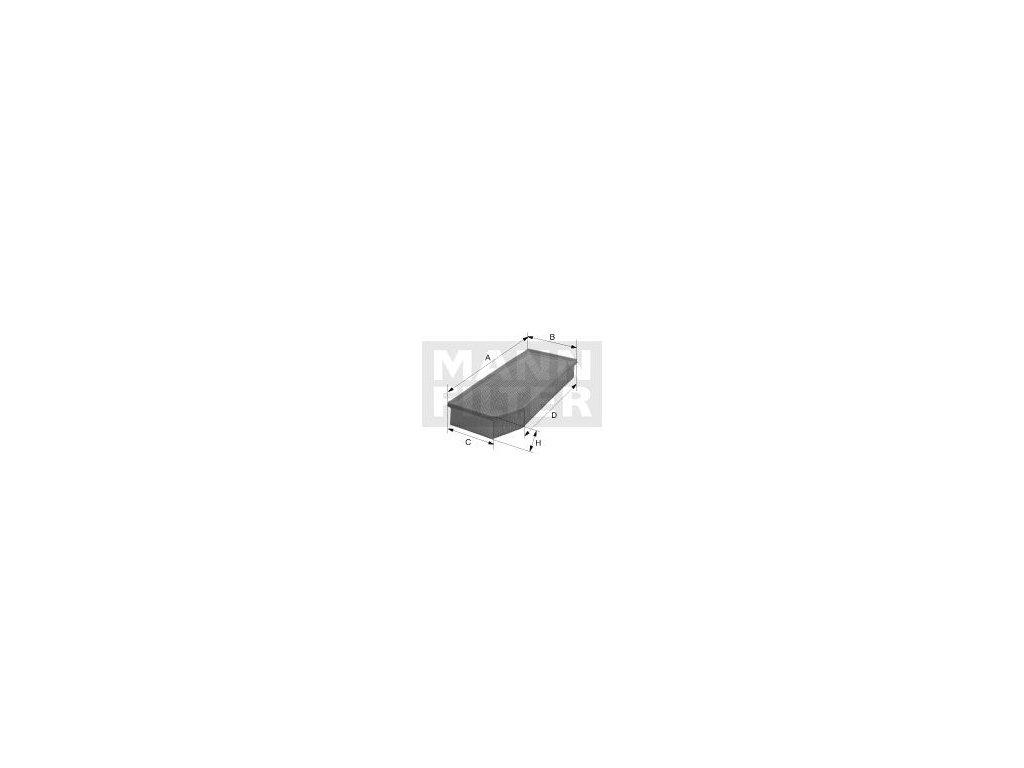 Vzduchový filtr MANN-FILTER C 28 038