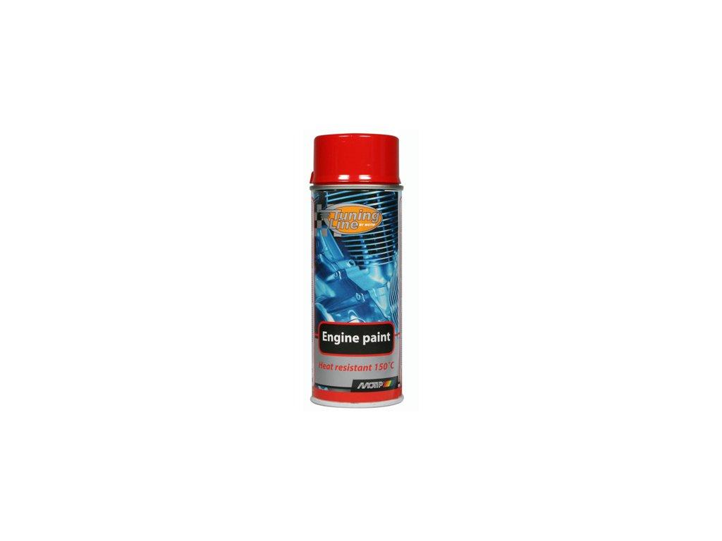Lak motru/tlumice vyfuku MOTIP Motip Tun. Engine red 400 04091