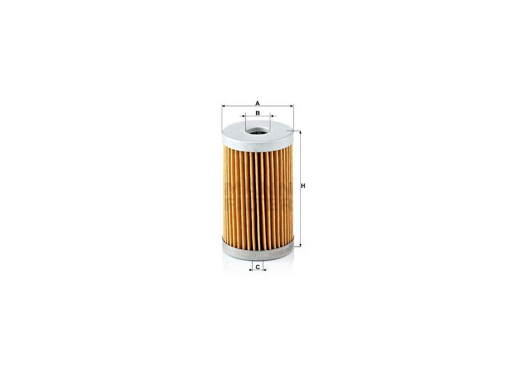 Vzduchový filtr MANN-FILTER C 43