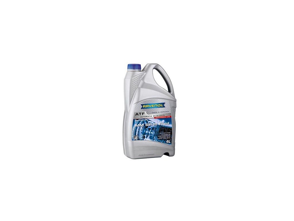Olej do automatické převodovky RAVENOL RAVENOL ATF MM SP-III Fluid 1212103-004-01-999