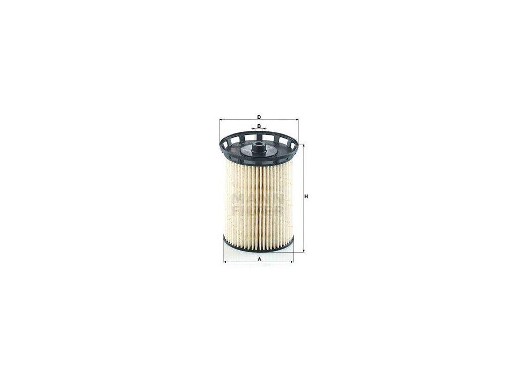 Palivový filtr MANN-FILTER PU 10 010 z