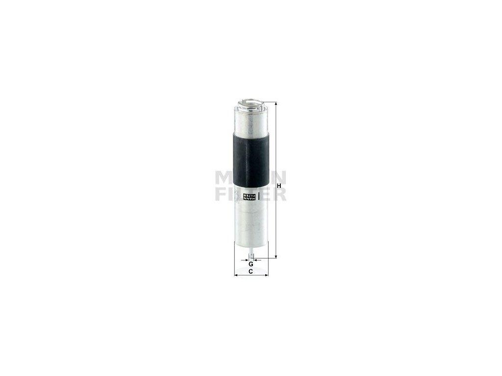 Palivový filtr MANN-FILTER WK 5016 z