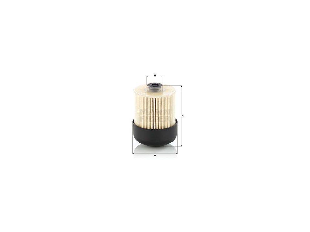 Palivový filtr MANN-FILTER PU 9009 z KIT