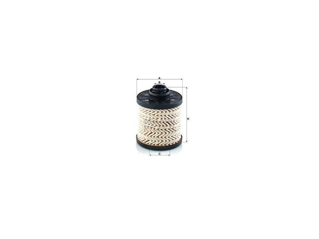 Palivový filtr MANN-FILTER PU 7011 z
