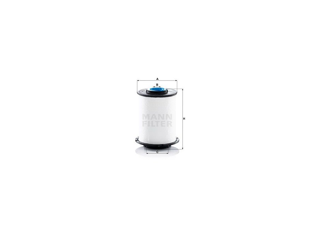 Palivový filtr MANN-FILTER PU 7012 z