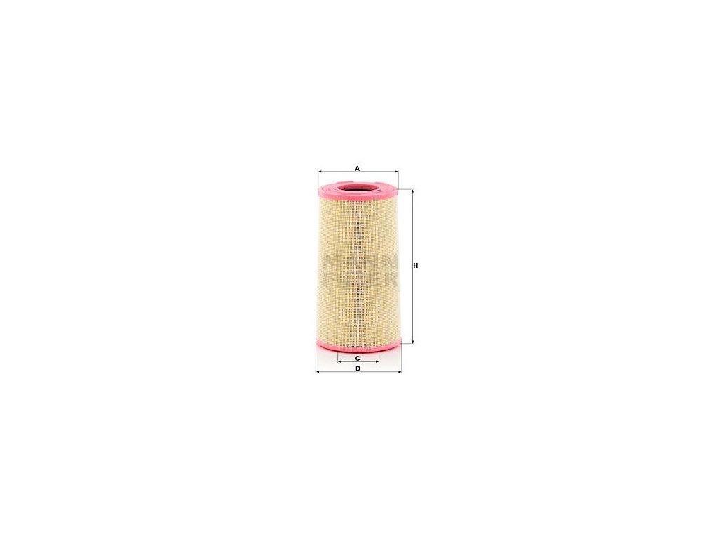 Vzduchový filtr MANN-FILTER C 26 024 KIT