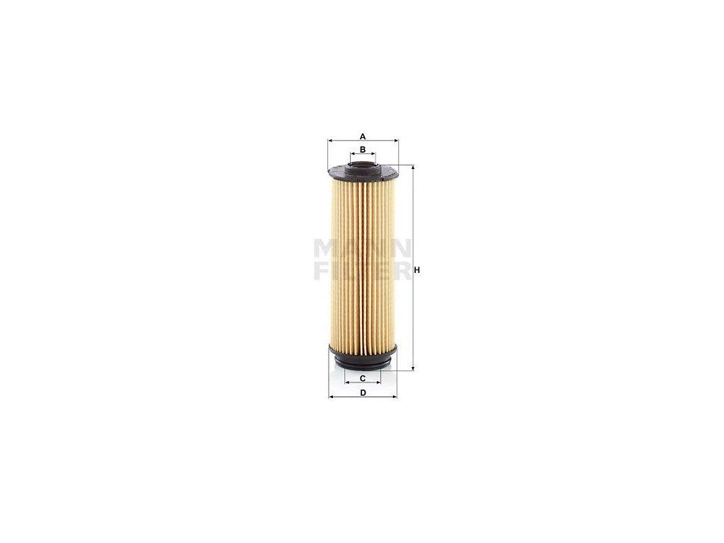Olejový filtr MANN-FILTER HU 6022 z