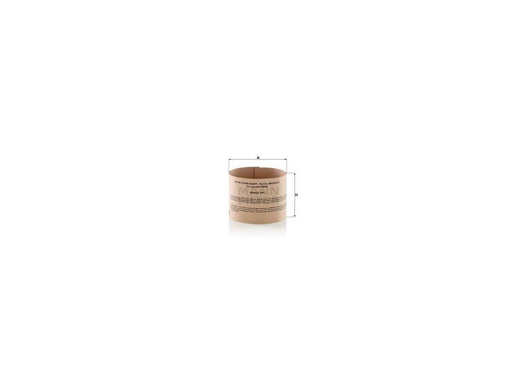 Olejový filtr MANN-FILTER ZR 12 001 z