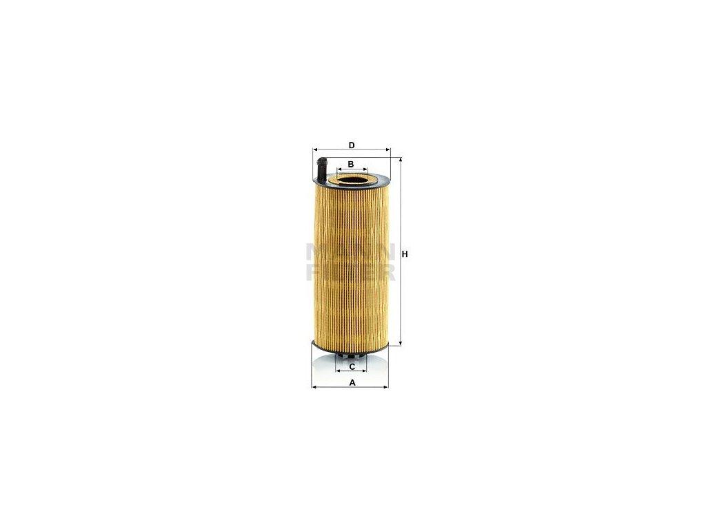 Olejový filtr MANN-FILTER HU 12 006 z