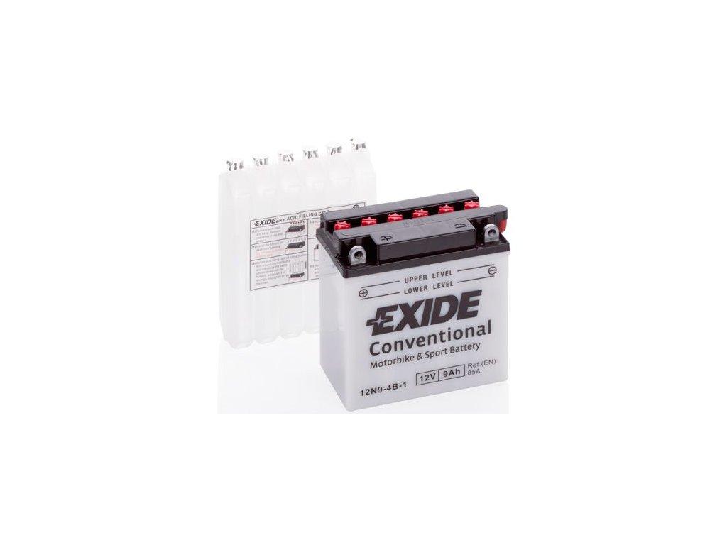 Startovací baterie EXIDE EXIDE Conventional 12N9-4B-1