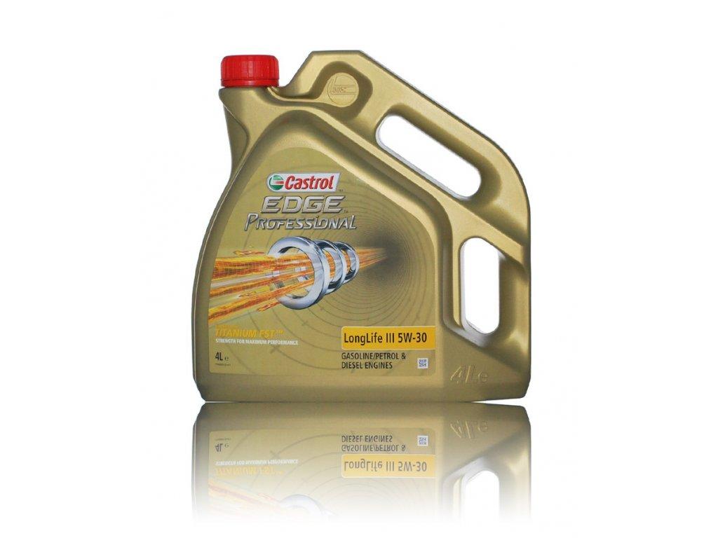 Castrol EDGE Titanium FST Professional Longlife III 5W-30, 4l