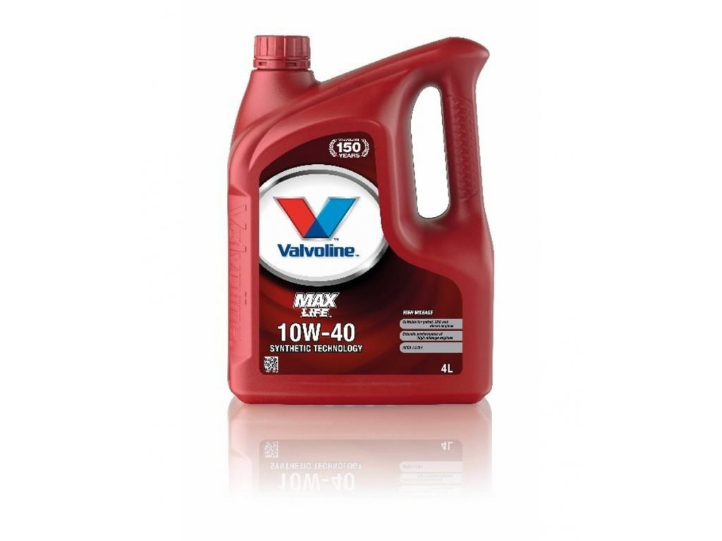 Valvoline Max Life 10W-40, 4l