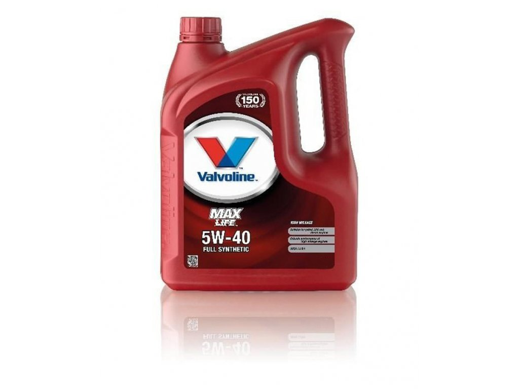 Valvoline MaxLife Synthetic 5W-40, 5L