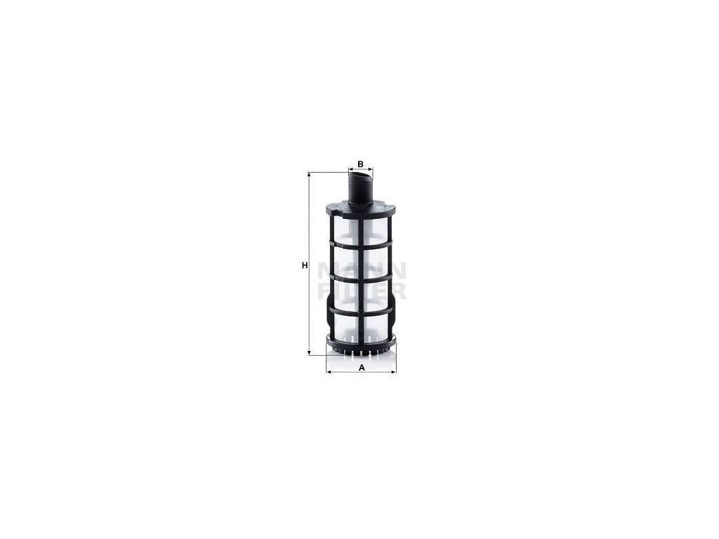 Palivový filtr MANN-FILTER PU 30/1 x