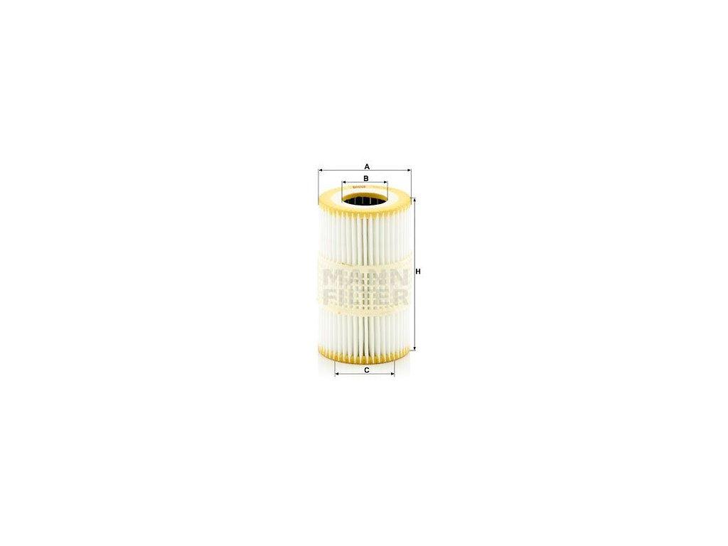 Olejový filtr MANN-FILTER HU 7035 y