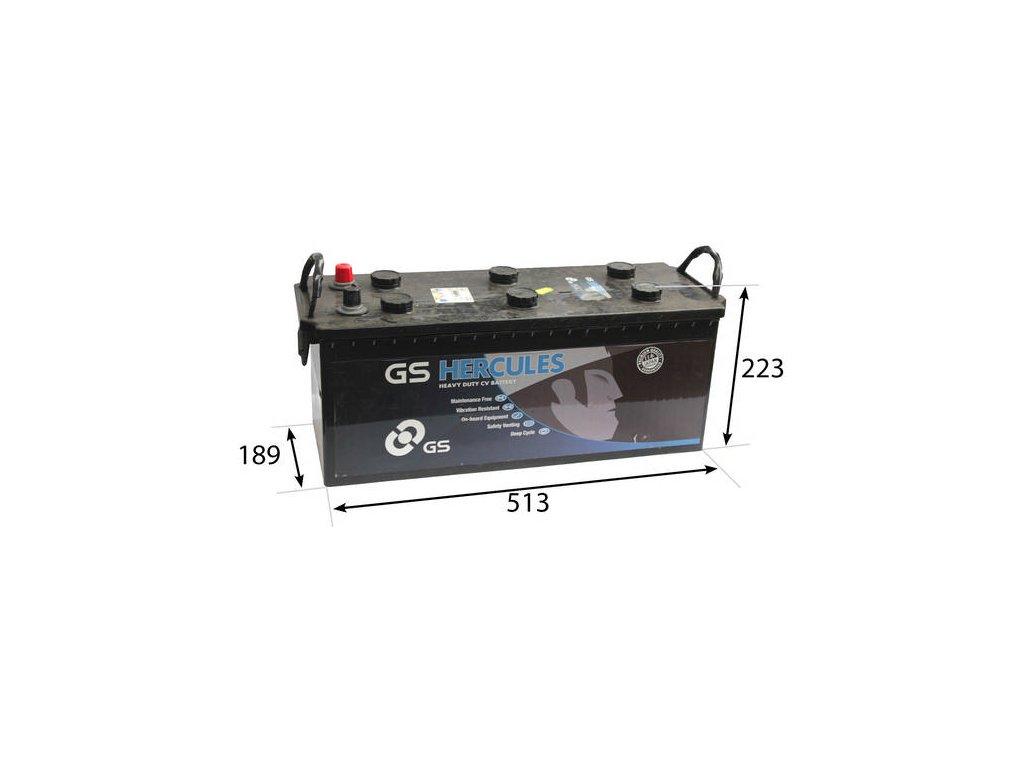 Startovací baterie GS GS Cargo Heavy Duty Battery GS-627HD