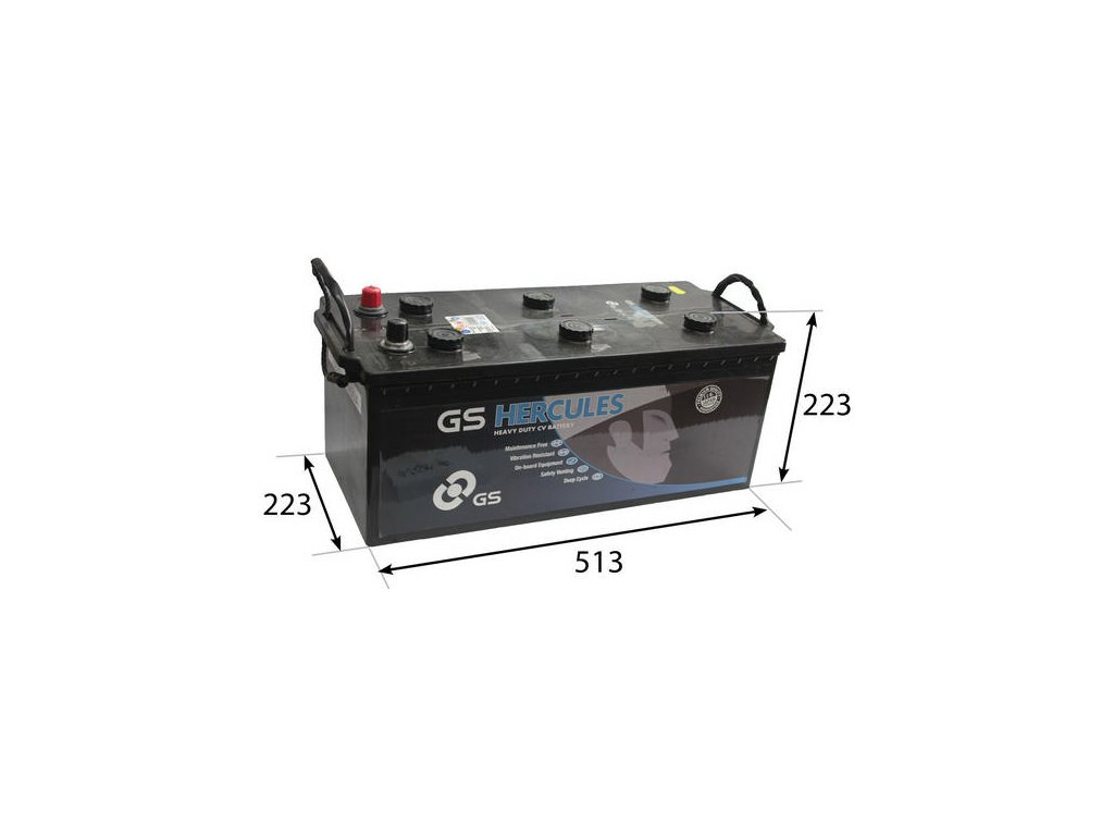 Startovací baterie GS GS Cargo Super Heavy Duty Battery GS-629SHD